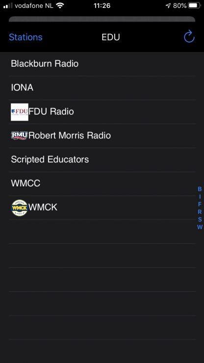 LUCI Global community app live audio over IP broadcast free for contributors.