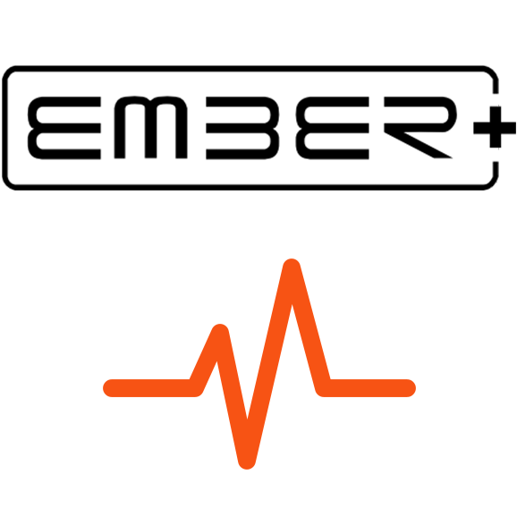 LUCI Studio live audio over IP streaming software with Ember+ plugin icon